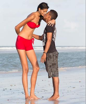 Elisany Silva - A adolescente mais alta do mundo