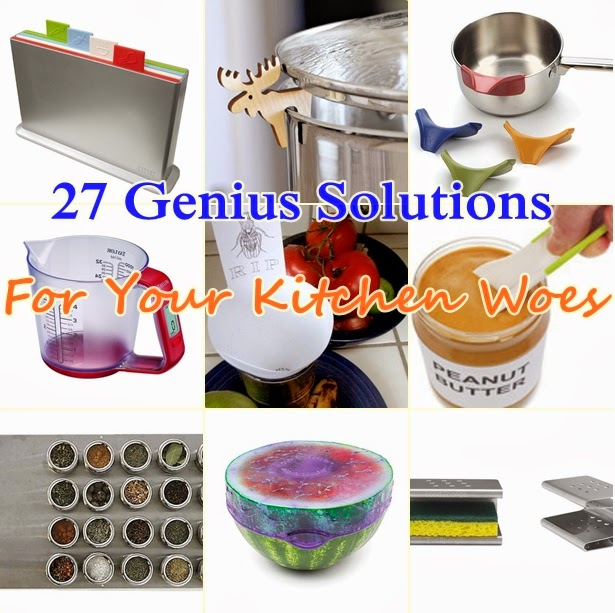 27 Genius Solutions For Your Kitchen Woes