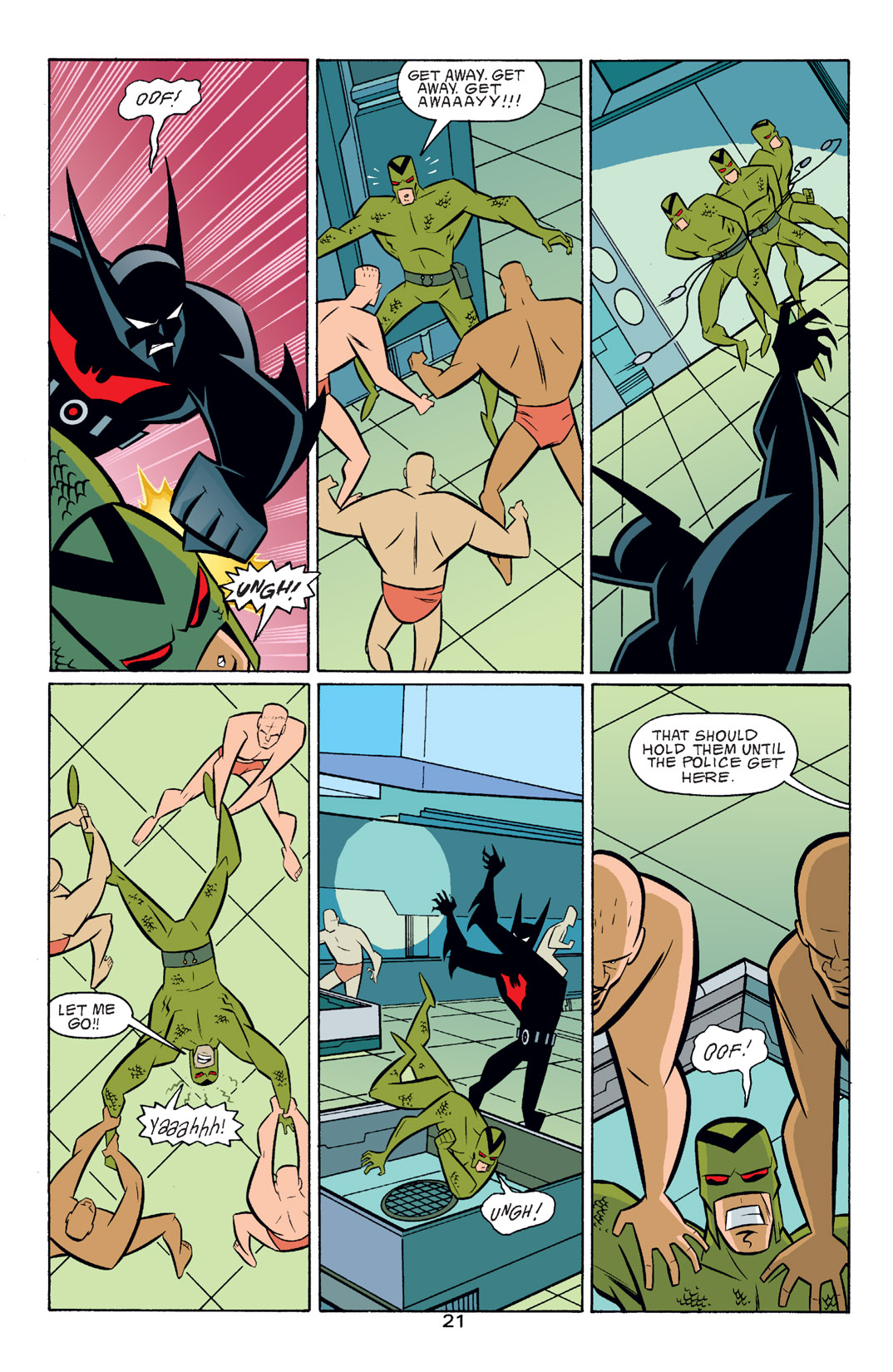 Batman Beyond [II] Issue #16 #16 - English 22
