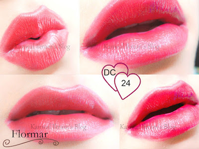 Flormar Deluxe Cashmere Lipstick DC-24