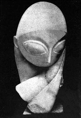 Constantin Brancusi portrait of Mile Pogany