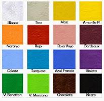 Colores de Tapizados