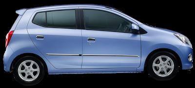 Harga dan Spesifikasi Mobil Daihatsu Ayla Terbaru 2013