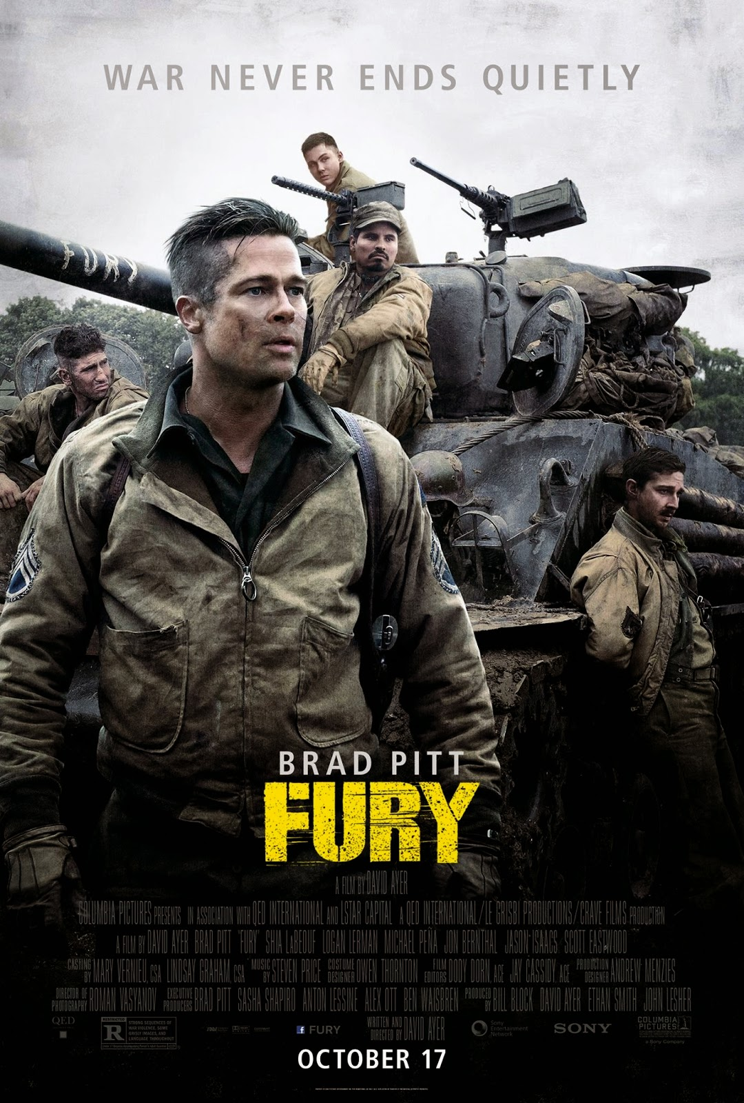 Watch Fury Movie 2014