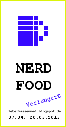 2. Bloggeburtstag - Blogevent NERD-FOOD