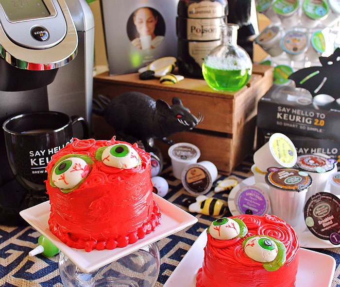 Mocha Zombie Cakes and Decorating Tips- Psst, The Secret Ingredient Is Coffee!