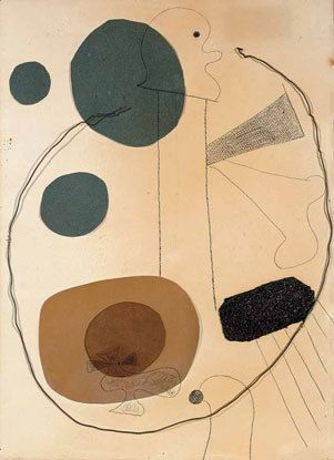 Joan Miro, Collage 1929