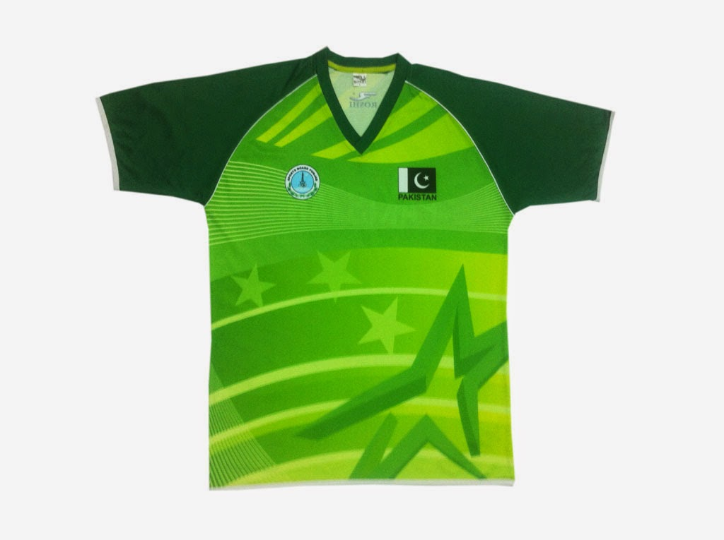 Pakistan kabaddi kit 2014