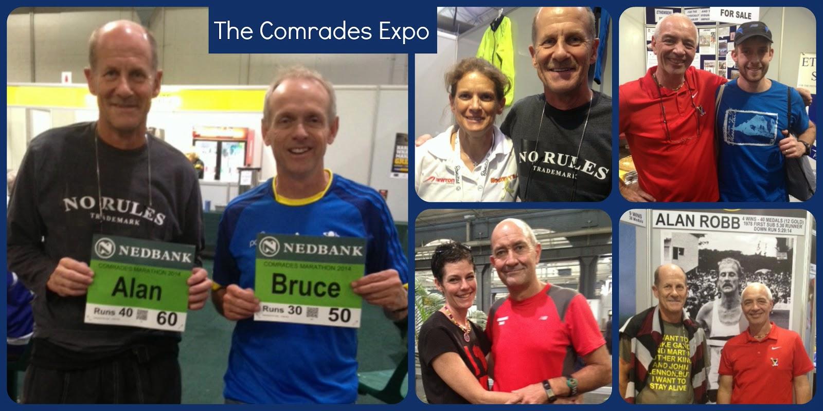Comrades Marathon Expo 2014