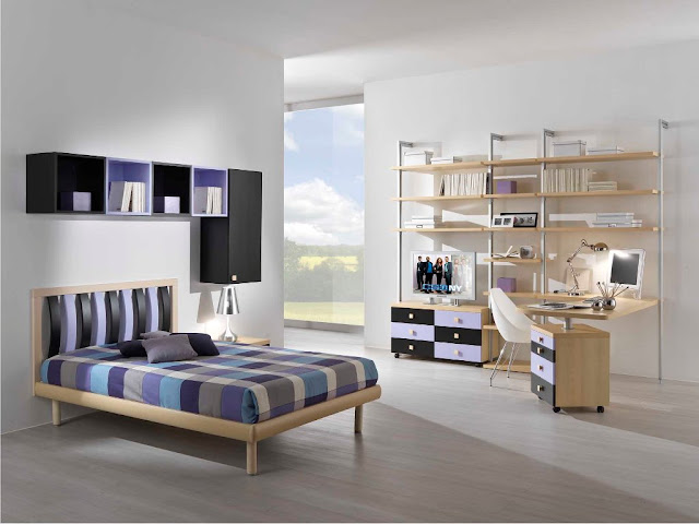Id e d co chambre ado fille moderne for Idee amenagement chambre