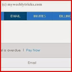 Set Up Weebly's Custom Email