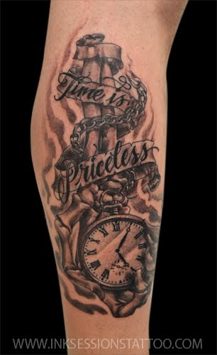 Ink sessions tattoo pocket watch tattoo for Pocket watches tattoos