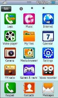 Samsung GT-S5260 Default Theme Free Download Menu