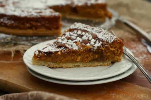 Pumpkin Gooey Butter Cake | www.girlichef.com