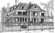 Image of Historic Lounsbury House, Ridgefield, CT