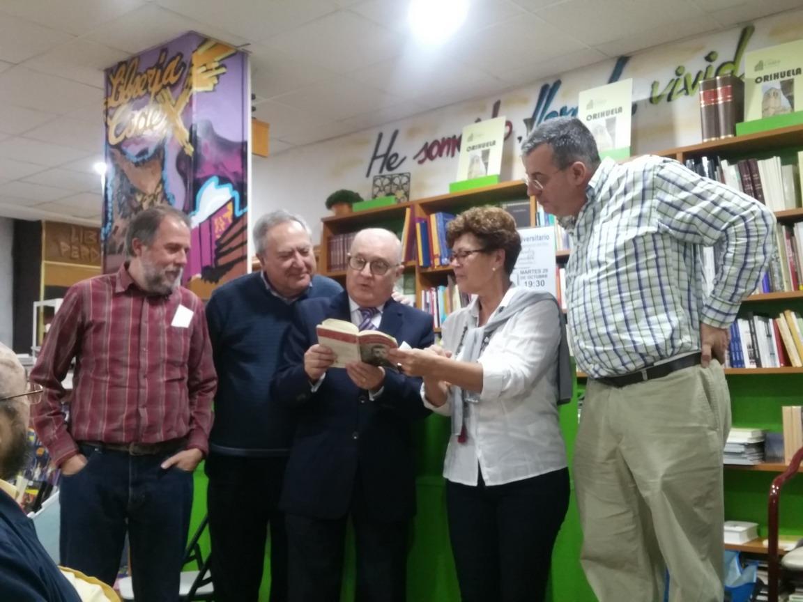 Presentación en Orihuela, 29-10-2019
