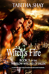 WITCH'S FIRE NOW AVAILABLE FROM SECRET CRAVINGS PUBLISHING!