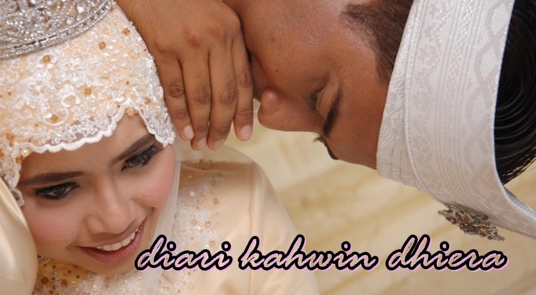 diari kahwin dhiera