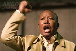 África do Sul: Líder juvenil do ANC suspenso por cinco anos