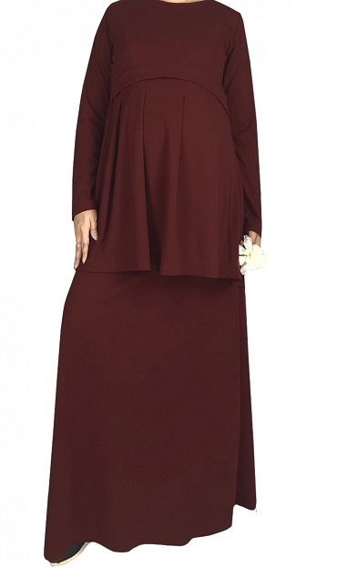 NBH0610 AZIZAH MATERNITY WEAR