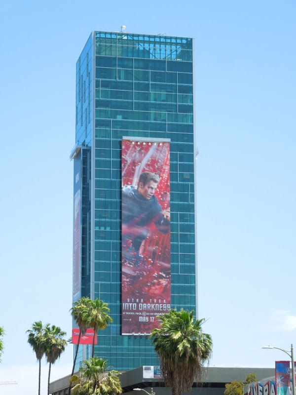 Giant Star Trek Into Darkness billboard