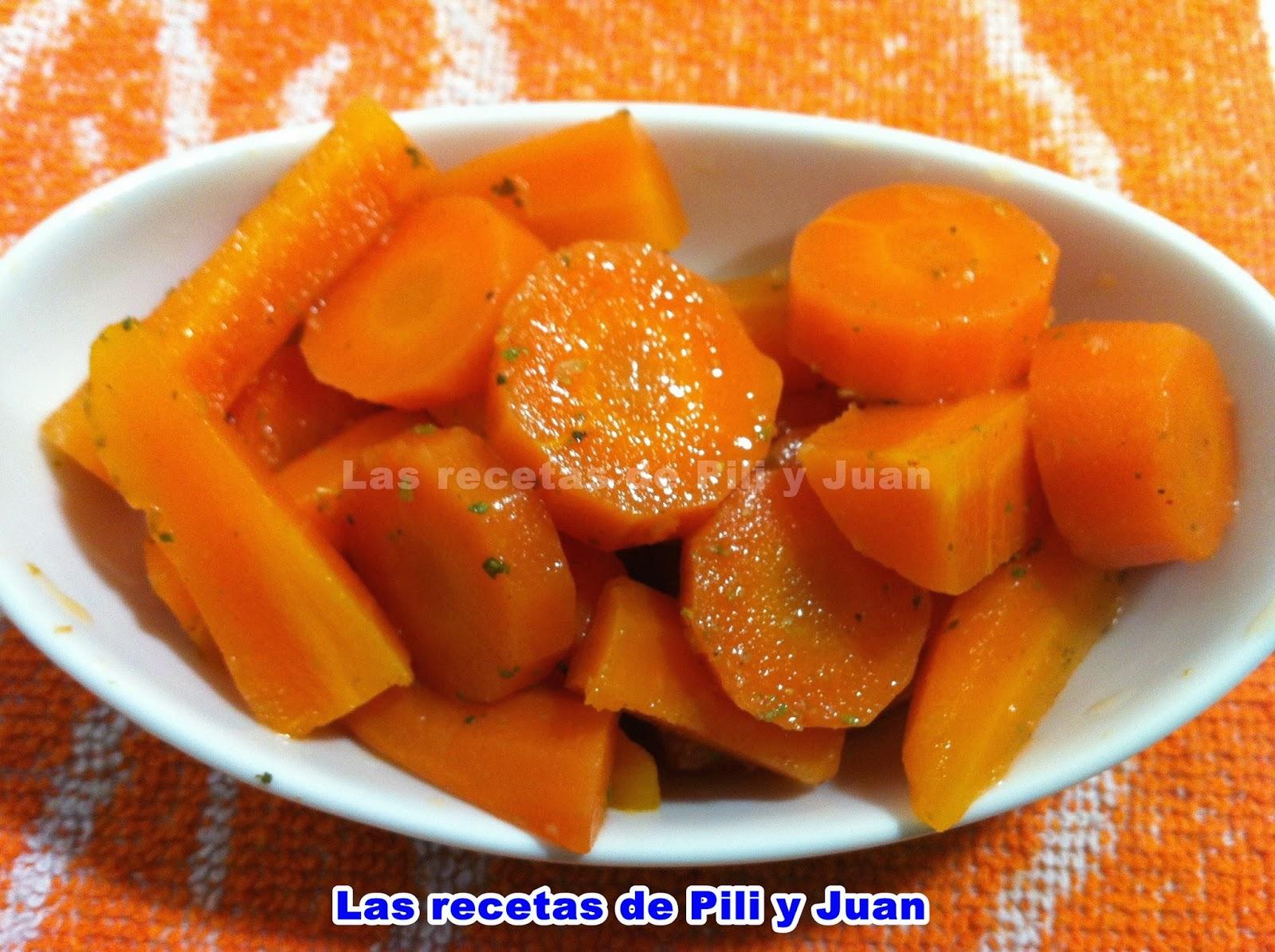 Las recetas de pili y juan zanahorias ali adas - Encurtido de zanahoria ...
