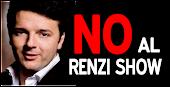 NO AL RENZI SHOW
