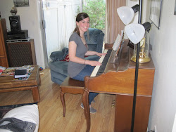 JoAnna Playing The Piano