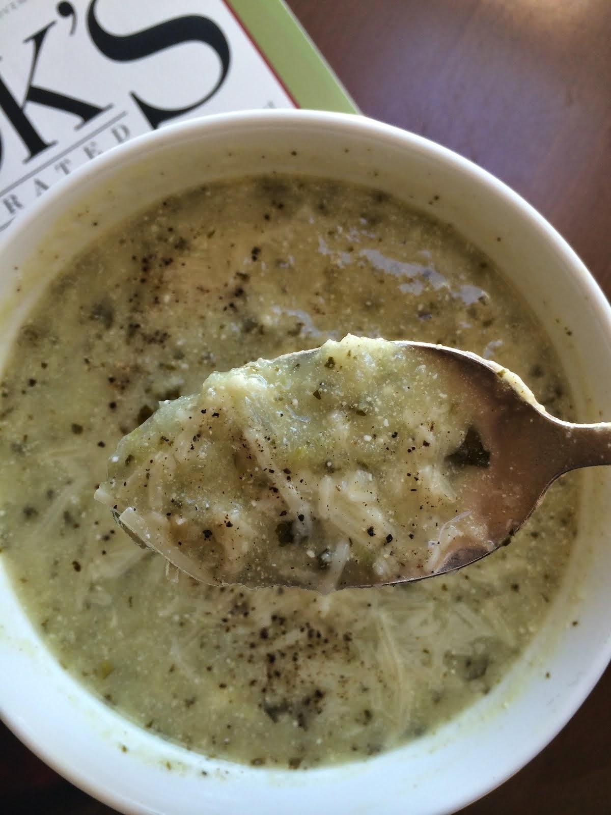 Ina Garten Soup what's margot making: delicious zucchini basil soup via ina garten