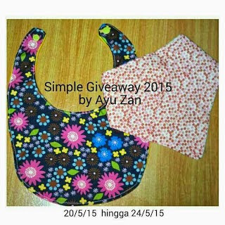 Simple Giveaway By Ayu Zan
