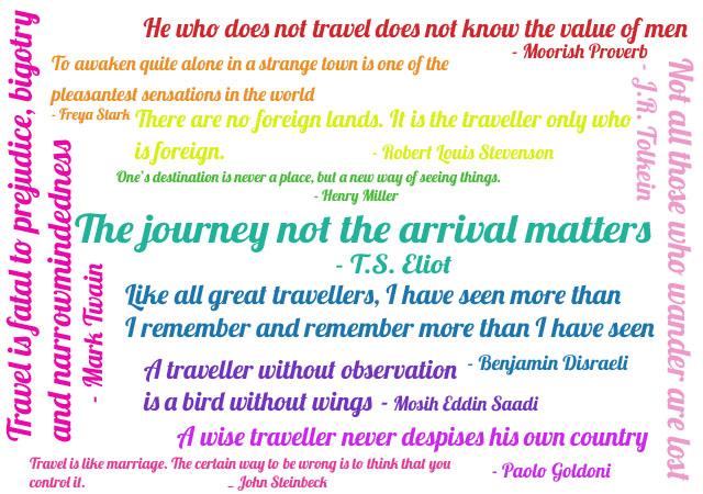 My Favorite Travel Essay
