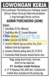 Jobs Lampung - PT Sumber Indah Perkasa