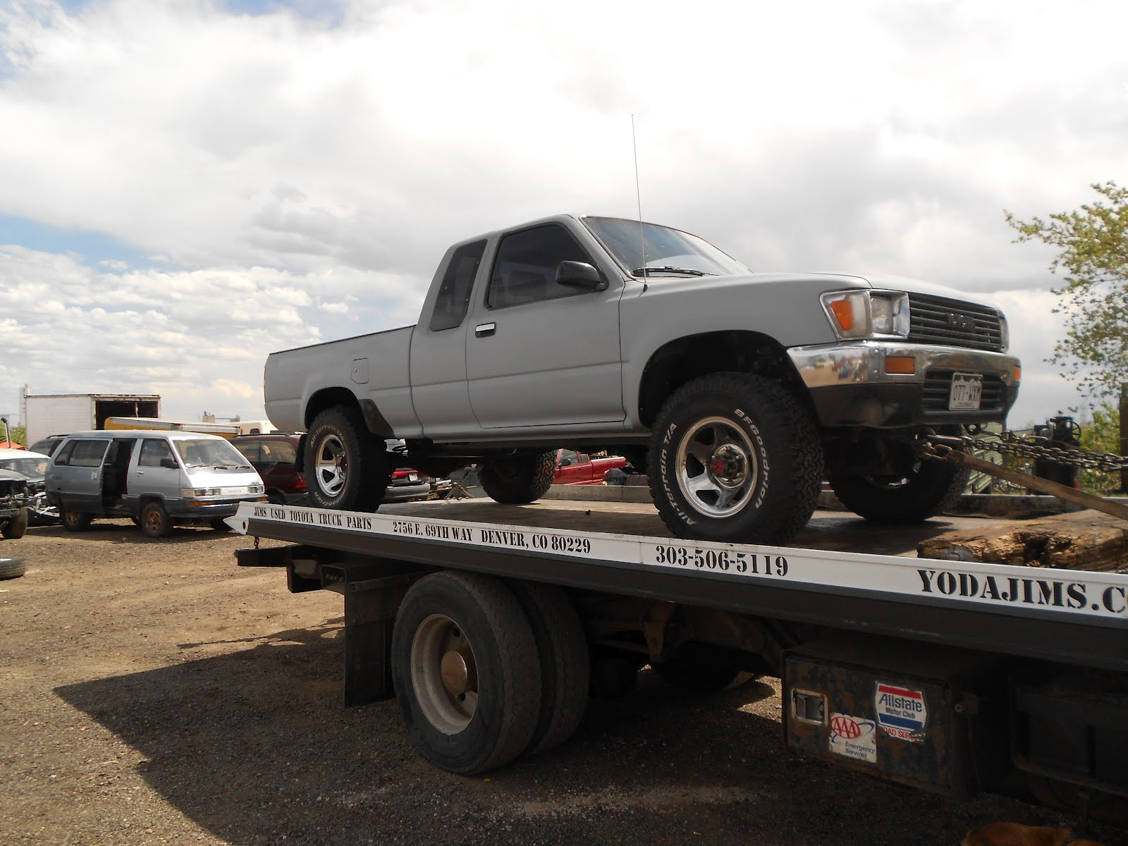 1989 Toyota Pickup Extra Cab 4cyl 4x4