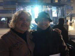 """Con Eloy Caldeiro en el certámen """"En Marcha Música Xove"""". Lugo, 16/04/11"""