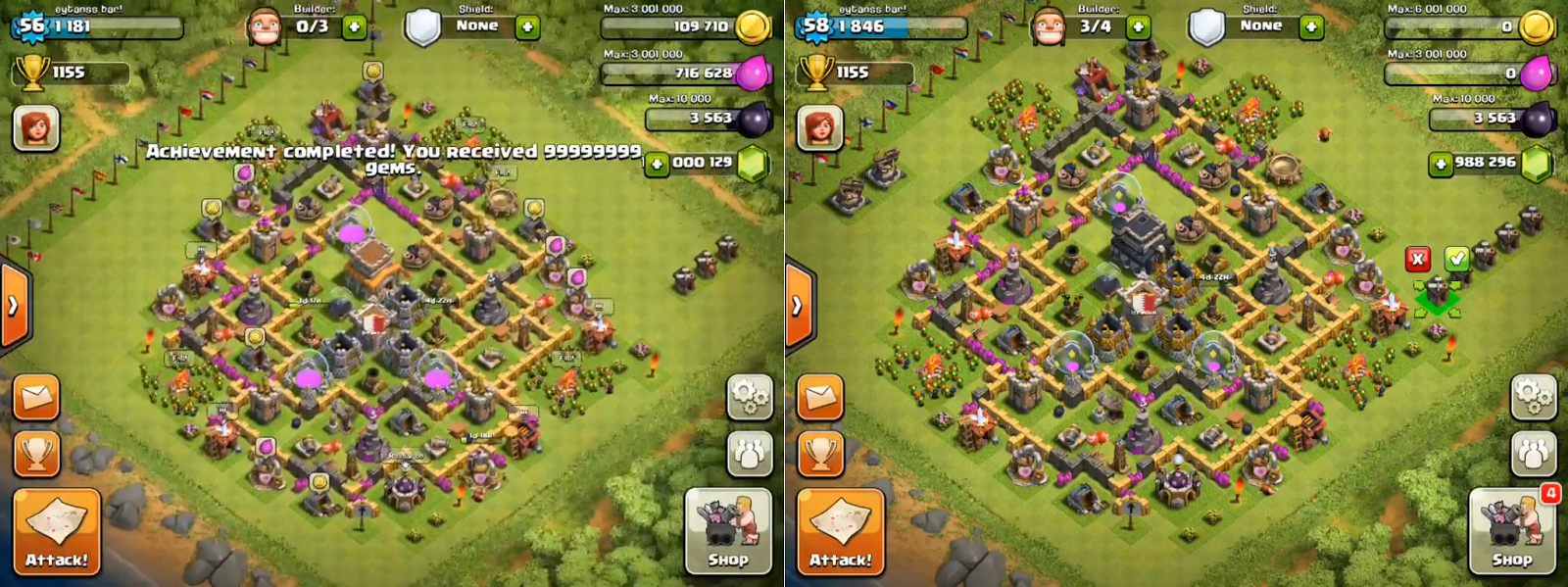 Clash Of Clans Hack, Clash of Clans Gems Hack