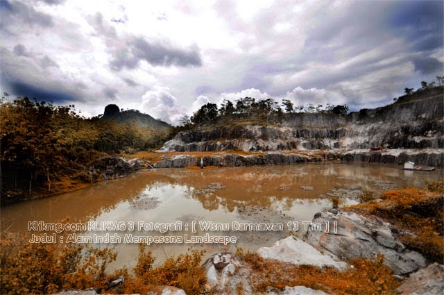 Judul Foto : Alam Indah Mempesona | KLIKMG 3 Fotografi : Wisnu Darmawan