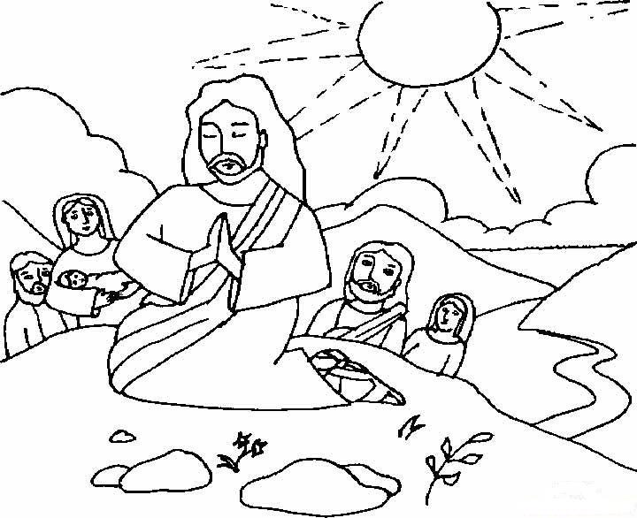 Dibujos Cristianos para colorear ~ Dibujos Cristianos Para Colorear