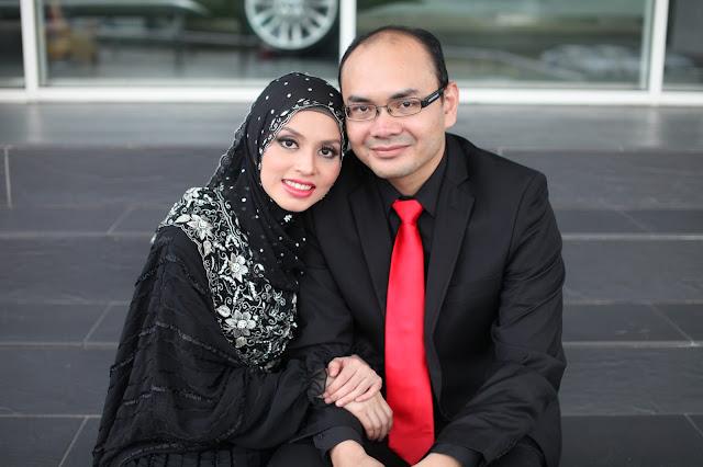 Adibah Karimah dan doktor hasbi photoshoot by Hafiz Atan