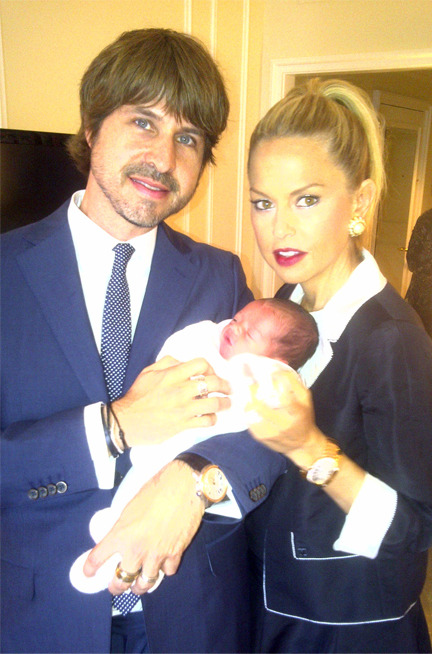 Rachel Zoe Shows Off Her Newborn Baby Boy, Skyler!