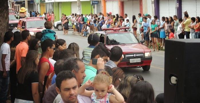 CORPO DE BOMBEIROS DE JANAÚBA DESFILE INDEPENDÊNCIA 2014