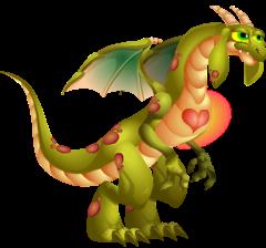 imagen del dragon corazon