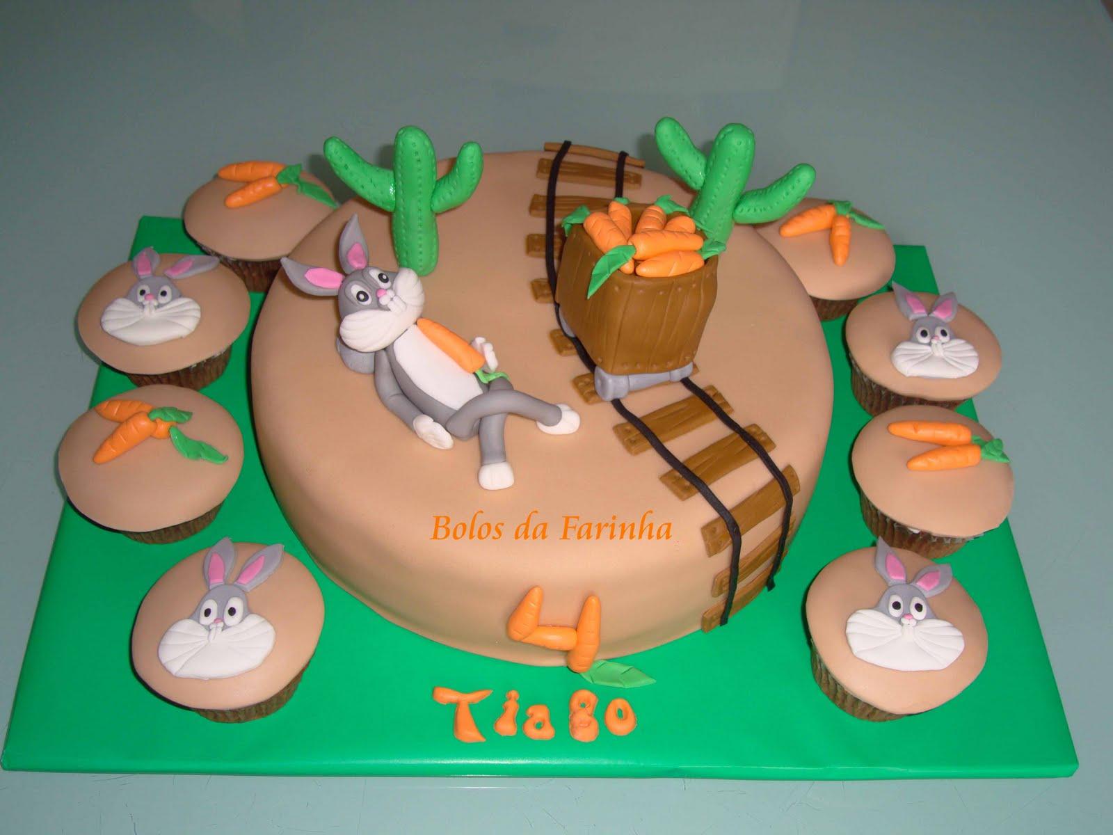 Bugs Bunny Cake Pops
