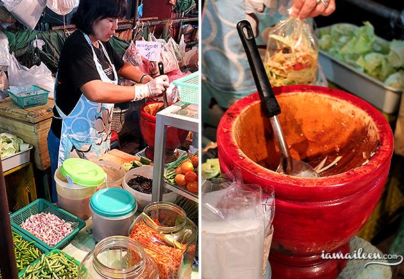 Top 10 Street Food Dishes in Chiang Mai Thailand Som Tom Green Papaya Salad