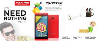 Polytron Rocket T1 R2501 Android 5 inch Murah Rp 1 Jutaan