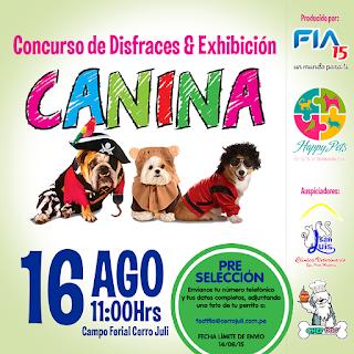 Concurso canino FIA 2015