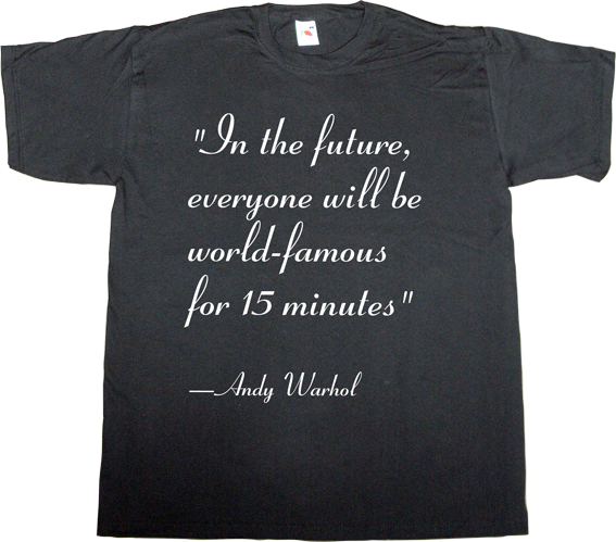 autobombing ephemeral-t-shirts the independent che Guevara andy warhol Julian Assange wikileaks fun vip t-shirt ephemeral-t-shirts