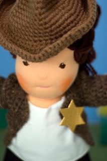 cowboy cowgirl costume waldorf dolls