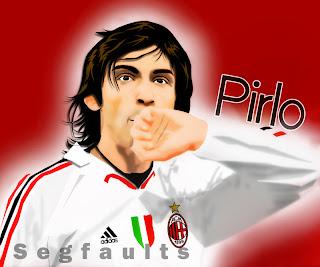 Andrea Pirlo AC Milan Wallpaper 2011 7