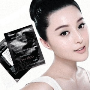 shiseido black mask murah