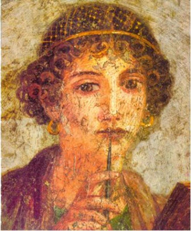 Safo de Lesbos, la musa censurada VADEMMDIUMS